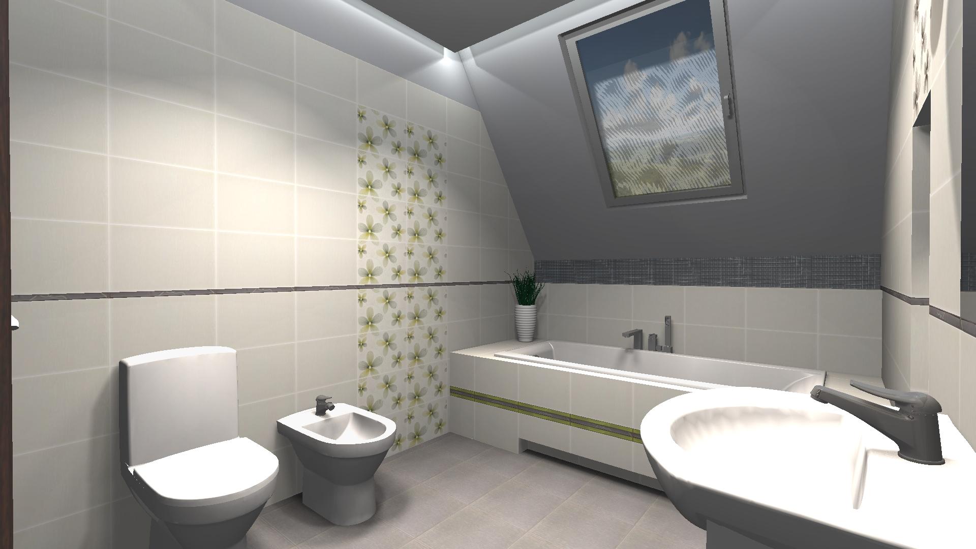 Łazienka spokojna dla seniora  od inspiracji do realizacji