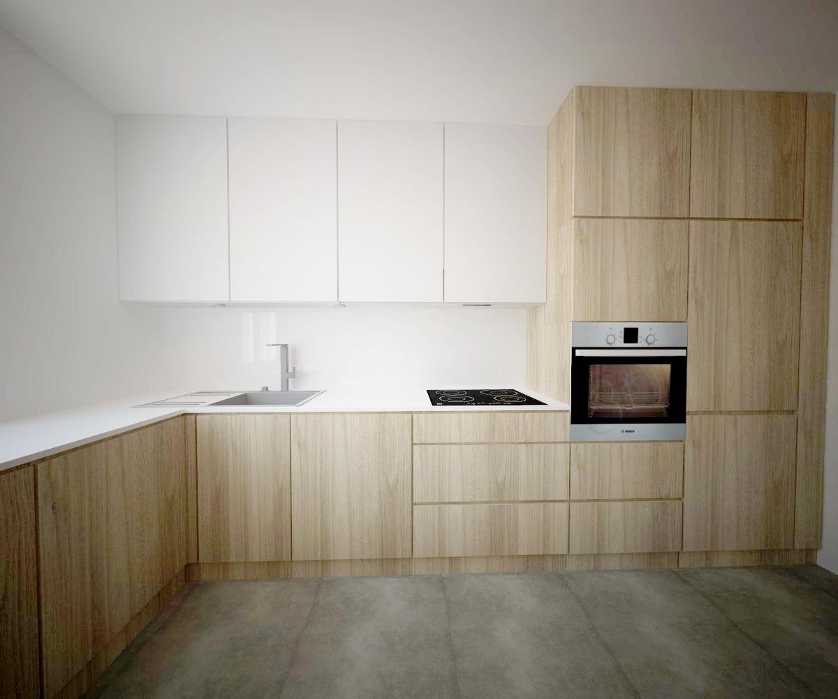 Projekt kuchni w Krakowie  od inspiracji do realizacji -> Projekt Kuchni Duzej
